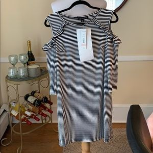 NWT Madison Leigh Cold Shoulder Dress Size 12